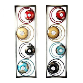 Picture of 10 X 35-in Bright Circle Wall Décor