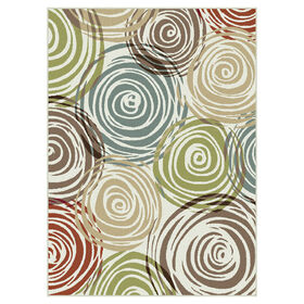Picture of Multicolor Studio Swirls Rug