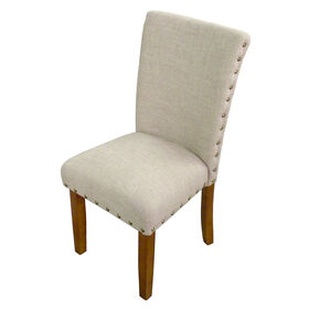 Picture of Parsons Chair - Rustic Tan Nail Head