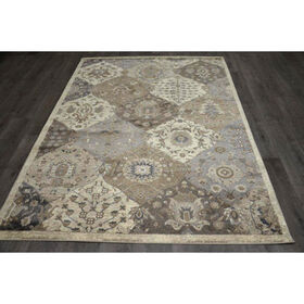 Picture of B303 Antique Quatrefoil Rug