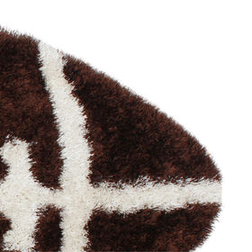 Picture of Football Senses Shag Accent Rug 30 X 50-in