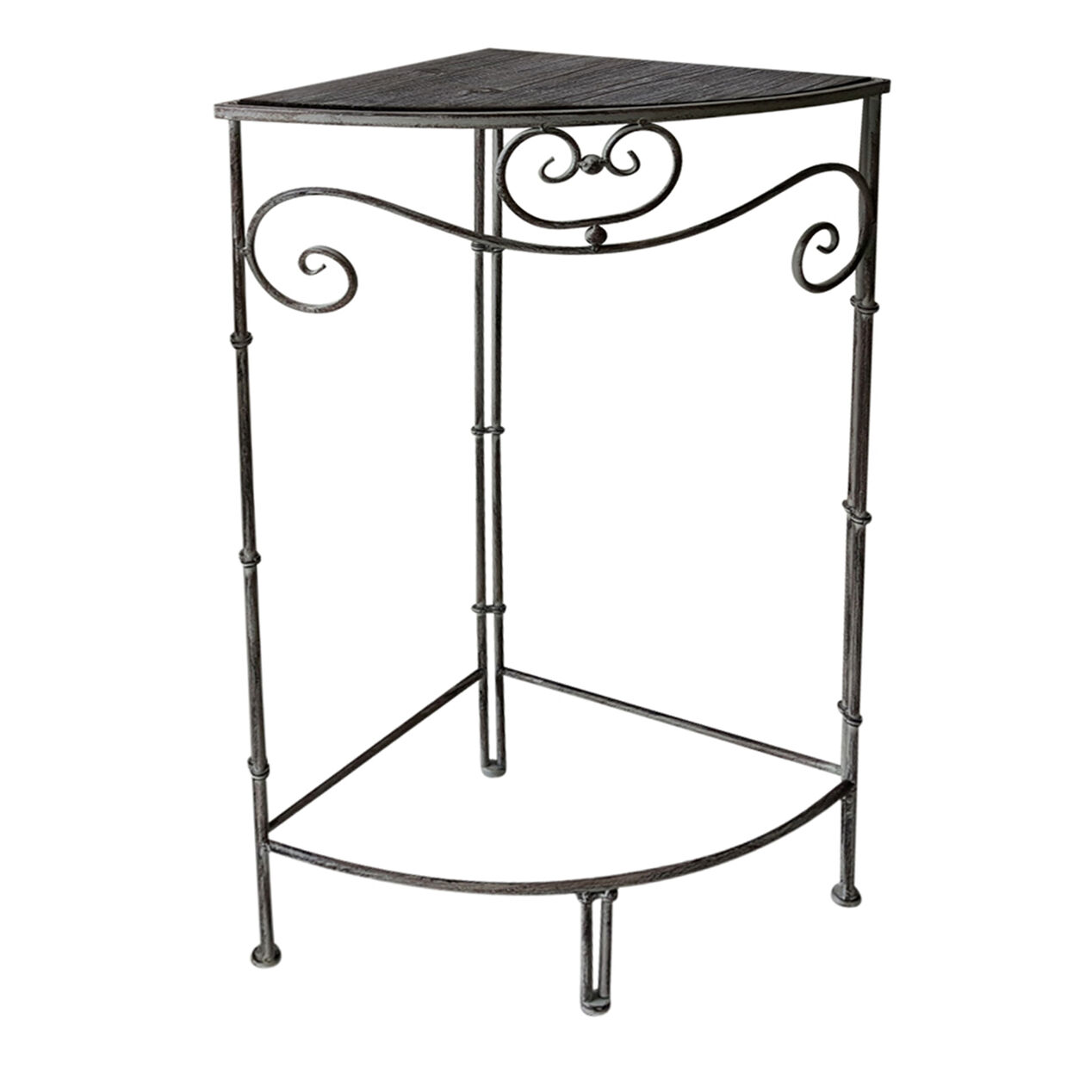Nested Rustic Corner Plant Stand Small Sold Separately