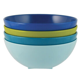 Picture of Spanish Tile Melamine Dip Bowls - set of 4