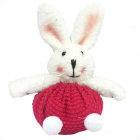 Picture of Bunny in Bright Fuschia Yarn