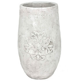 Picture of Terracotta Embossed Planter 17-in