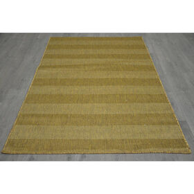 Picture of B321 Brown Natural Striped Rug