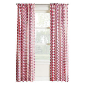 Picture of Berry Pattern Window Curtain Panel 84-in