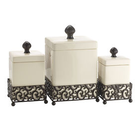 Picture of Danbury Square Canister - set of 3