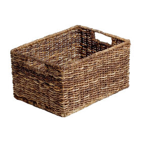 Picture of Abaca Rectangular Basket - Medium