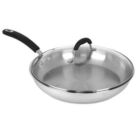 Picture of 12-in Covered Stainless Steel Fry Pan