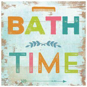 Picture of SA TEX 18X18 COLOR BATH TIME