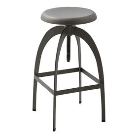 Picture of Metal Corkscrew Adjustable Barstool