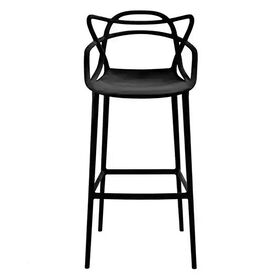 Picture of Century Modern Bar Stool - Black
