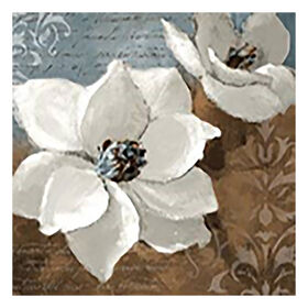 Picture of 35 X 35-in White Magnolia Gallery Art