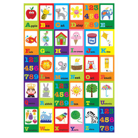 Picture of 24 X 36-in Alphabet Number Children's Studio Art