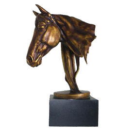 Picture of Antique Gold Horsehead