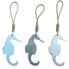 Picture of 21-in. Wood Rope Sea Horse - Assortment of 3