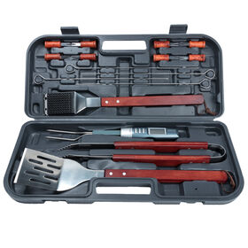 Picture of Stainless Steel BBQ Tool Set - 17pc