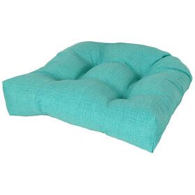 Picture of Teal Peacock Seat Cushion