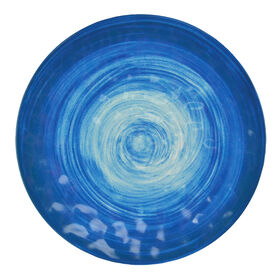 Picture of Spanish Tile Melamine Dinner Plate - Blue