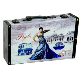 Picture of Italian Box 8 x 3 x 8-in