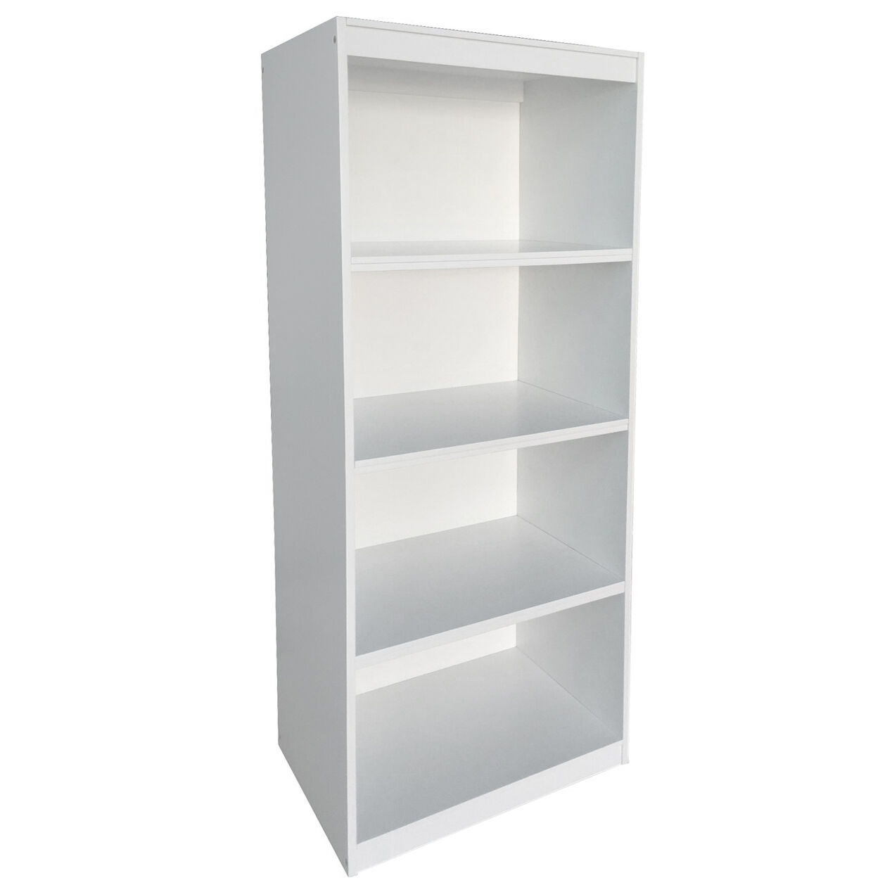 Wooden 5 Tier Bookcase White 63 H At Home – Tier Bookcase