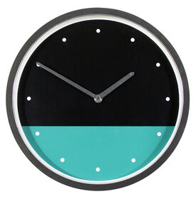Picture of AC 12D MODERN SPLIT TEAL CLOCK