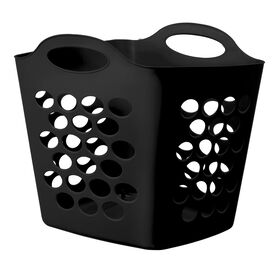 Picture of Flexible Square Laundry Basket - Black