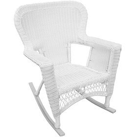 Picture of WICKER ROCKER WHITE SHM