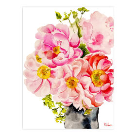 Picture of AA TEX 8X10 PINK FLORAL