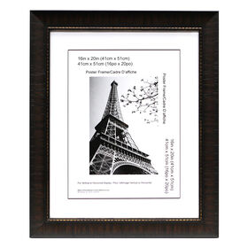 Picture of 16 X 20-in Espresso Maria Poster Frame