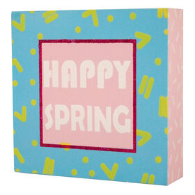 Picture of Happy Spring Sign- 6 in.