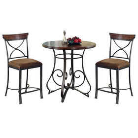 Picture of Madrid 3 Piece Dining Set