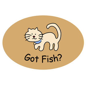 Picture of Gloucester Got Fish Accent Rug 17 X 27-in