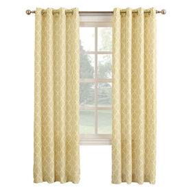 Picture of Harvest Lorenzo Window Curtain Panel 84-in