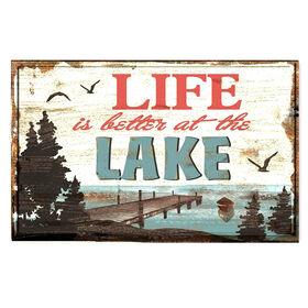 Picture of 14.75X10 ALL YOU NEED IS/LAKE