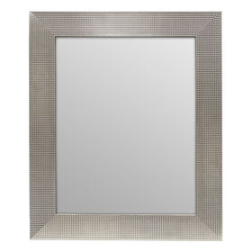 Picture of 22 X 28-in Champagne Beaded Dotty Mirror