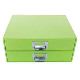 Picture of 2 DRAWER FLAT FILE-GREEN