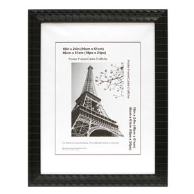 Picture of 18 X 24-in Black Mosaic Poster Frame