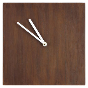 Picture of Wood Block Clock- 10x10 in.