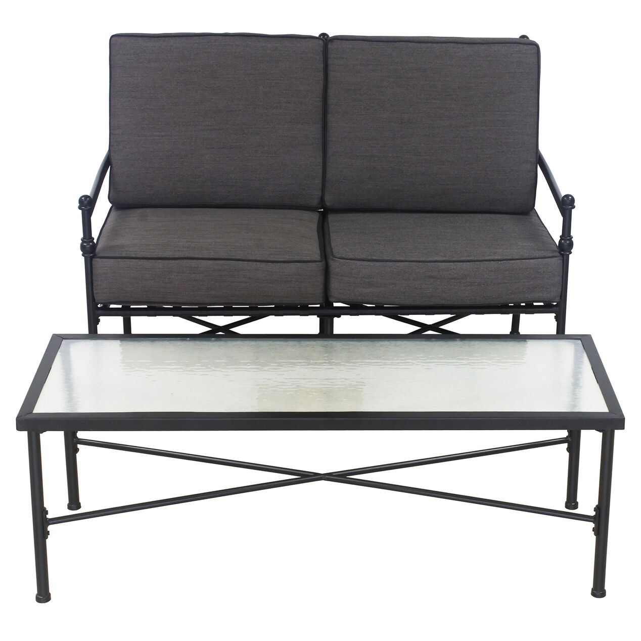 Cambridge 2 Piece Settee And Coffee Table Set At Home