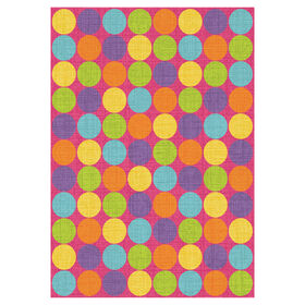 Picture of D103 Pink Multicolor Gumdrop Rug