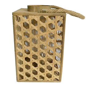 Picture of 11IN BAMBOO T-LITE HOLDER
