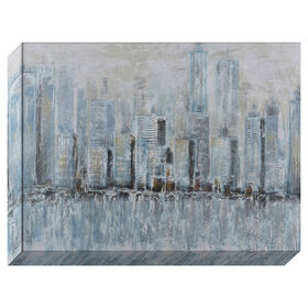 Picture of GA TEX 36X48 HAZE CITYSCAPE HP
