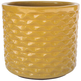 Picture of 11.8 IN PINA PLANTER YELLOW