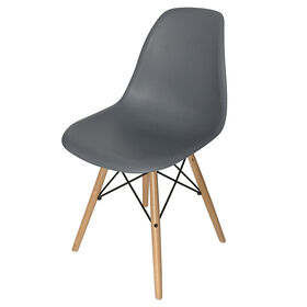 Picture of EIFFEL CHAIR GREY WOOD LEGS