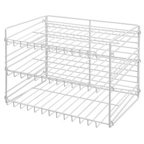 Picture of 3 Tier Wire Can Rack - White