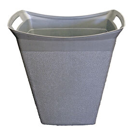 Picture of 15 Quart Wastebasket - Silver