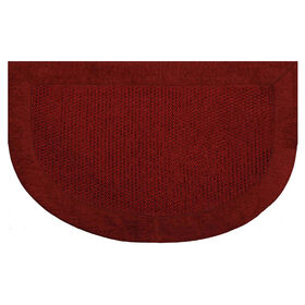 Picture of Burgundy Braxton Slice Accent Rug- 20x32 in.