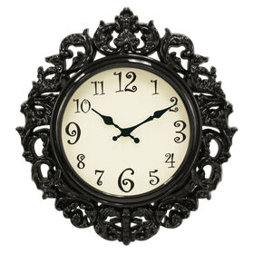 Picture of 16-in Oval Bright Ornate Clock
